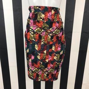 5 for $25 Lularoe Geometric Print Skirt